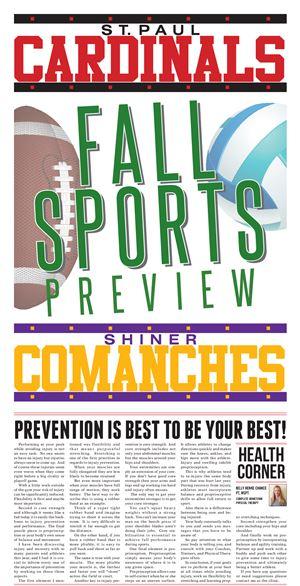 Shiner Fall Sports Preview e-Edition