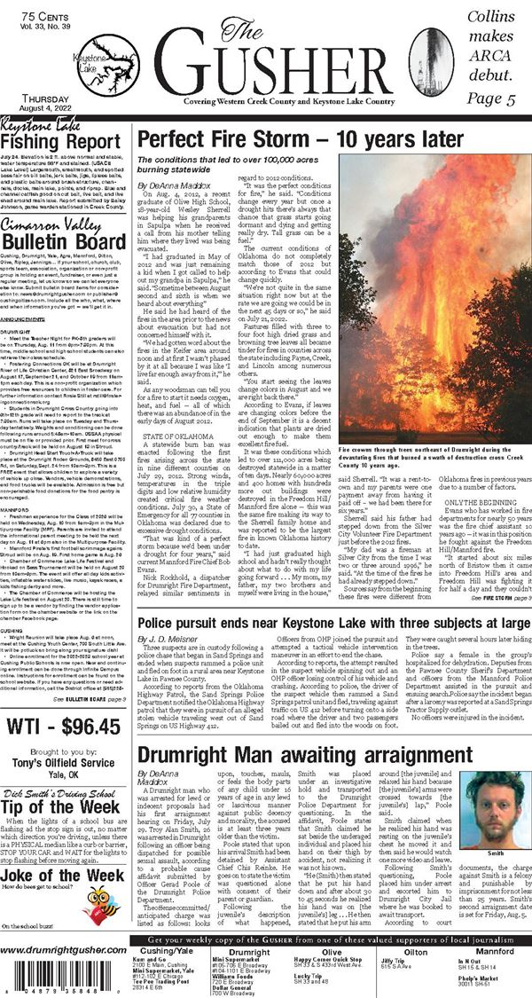Drumright Gusher e-Edition