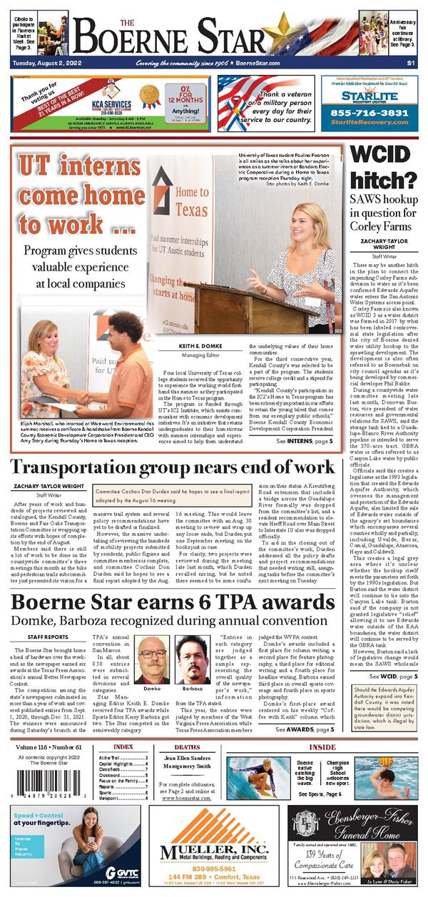 Boerne Star e-Edition