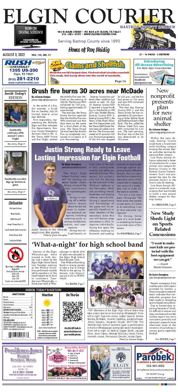 Elgin Courier e-Edition