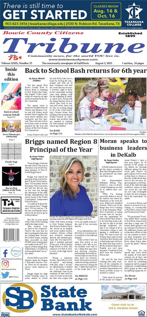 Bowie-County Citizens Tribune e-Edition
