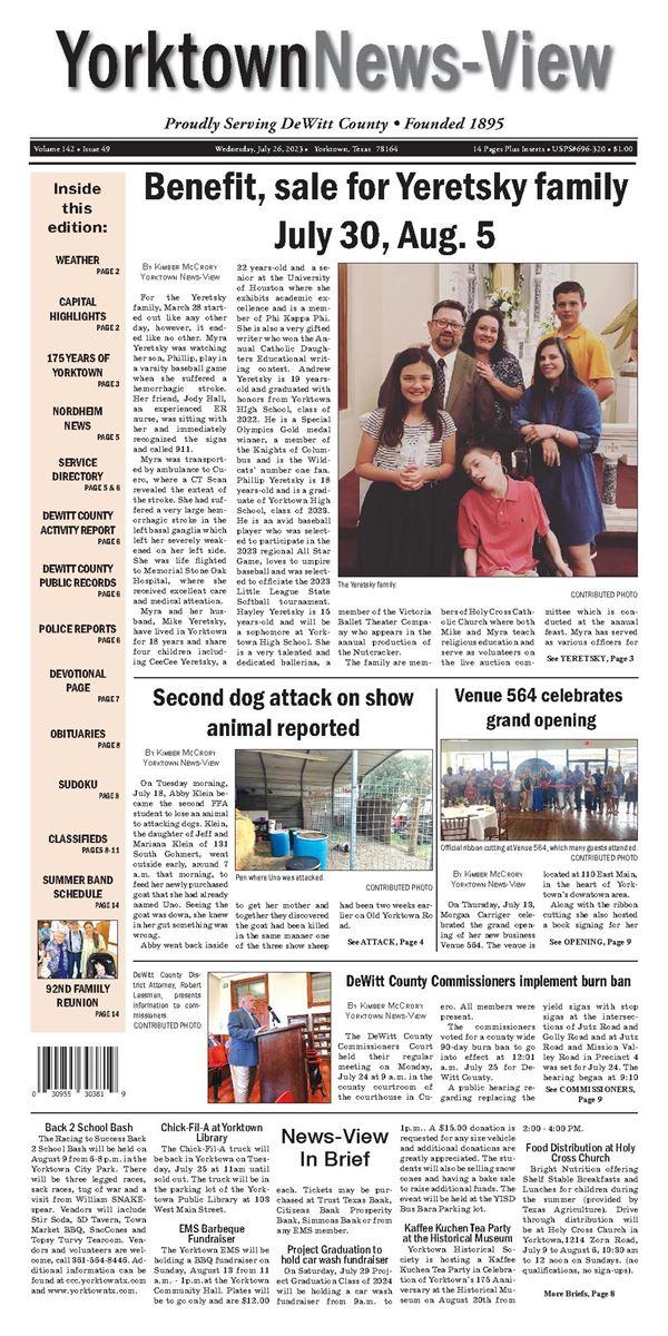 The Yorktown News-View e-Edition