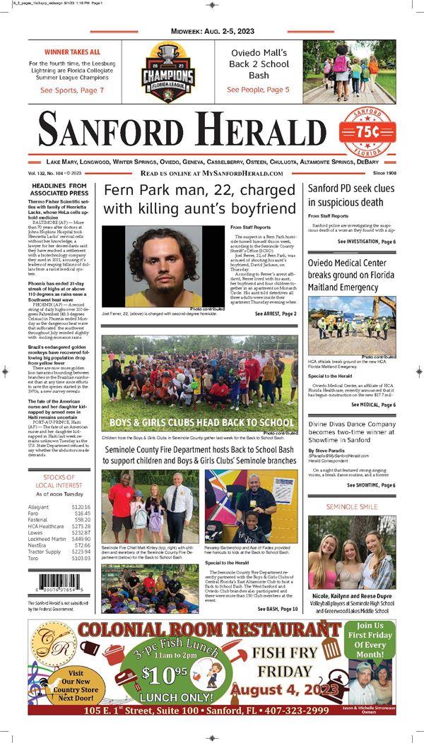 Sanford Herald e-Edition