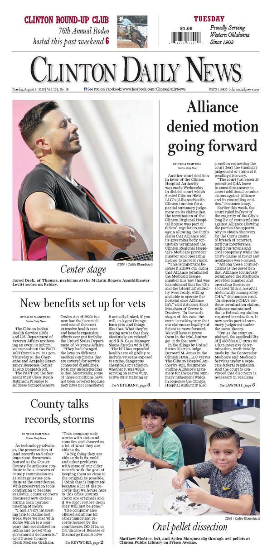 Clinton Daily News e-Edition
