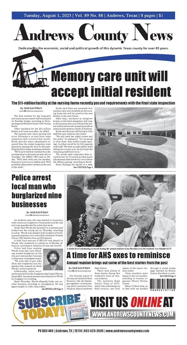 Andrews County News e-Edition
