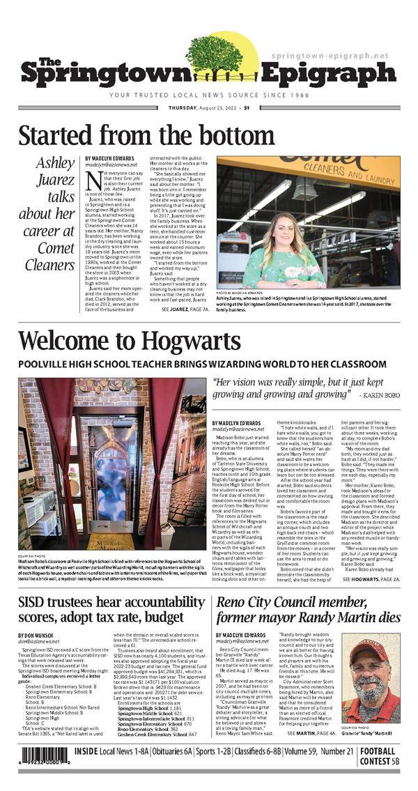 Springtown Epigraph e-Edition