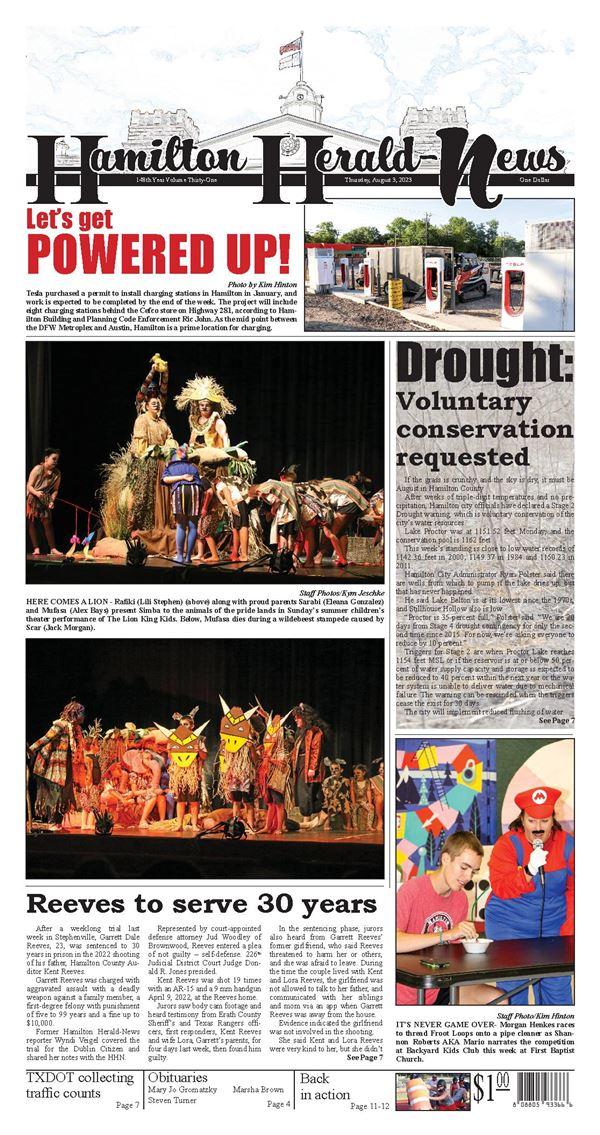 Hamilton Herald-News e-Edition