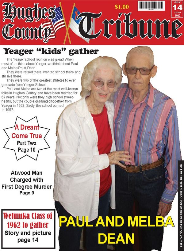 Hughes County Tribune e-Edition