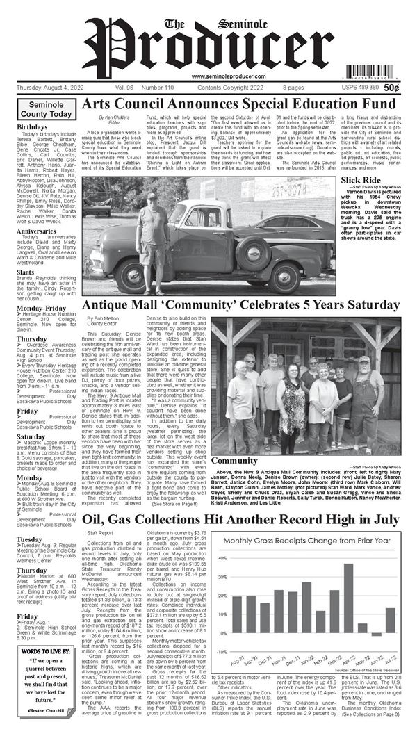 Seminole Producer e-Edition