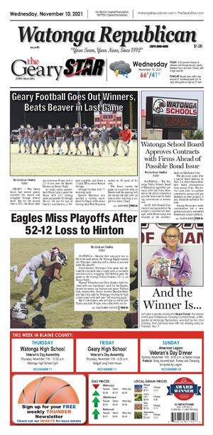 The Geary Star e-Edition