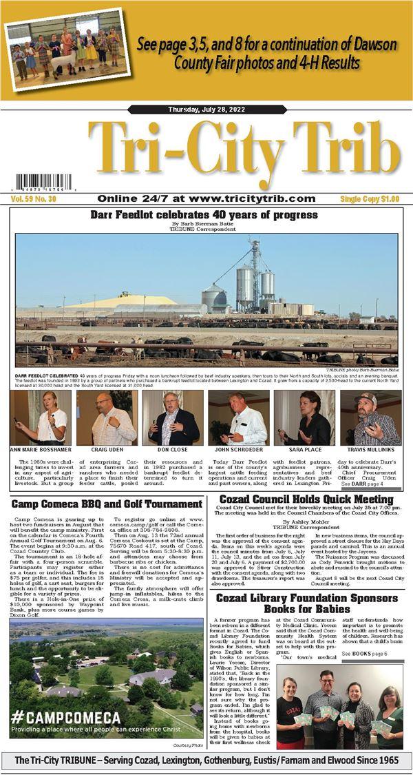 Tri-City Tribune e-Edition