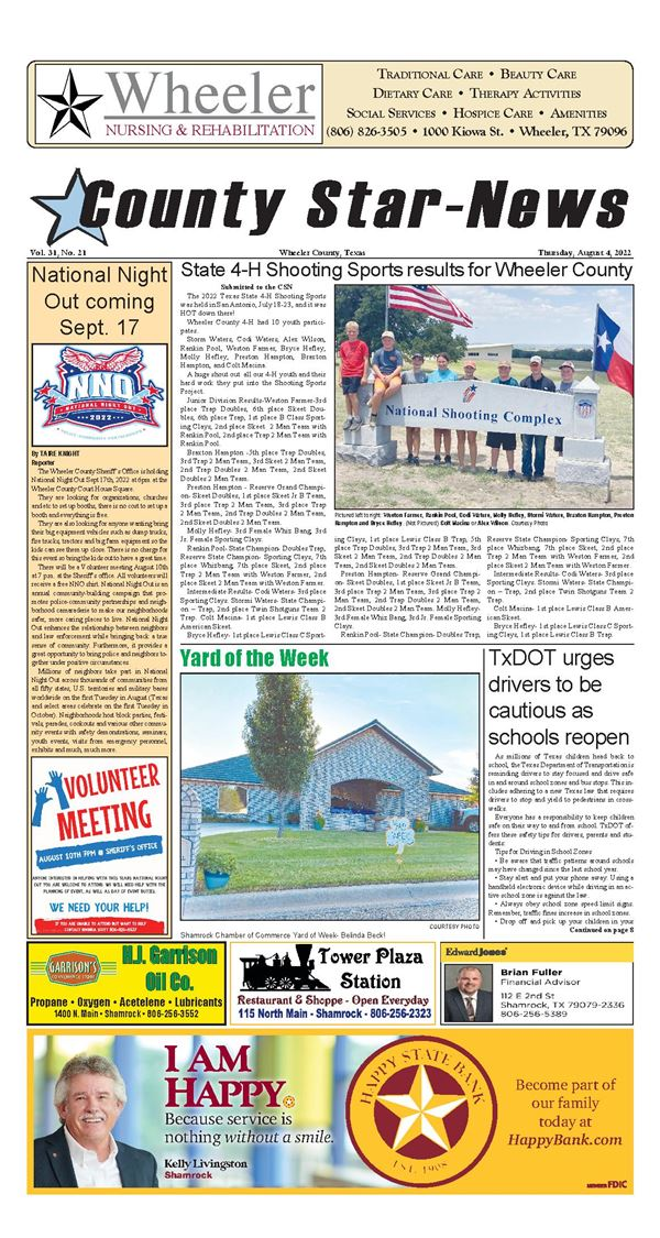 Read or Subscribe to the County Star-News