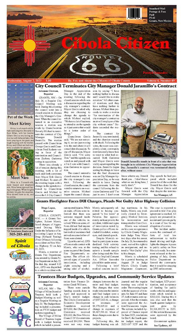 Cibola Citizen e-Edition