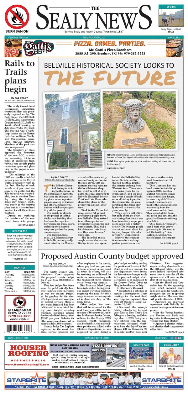 The Sealy News e-Edition
