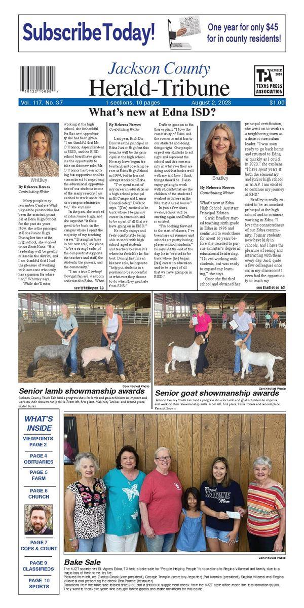 Jackson County Herald Tribune e-Edition